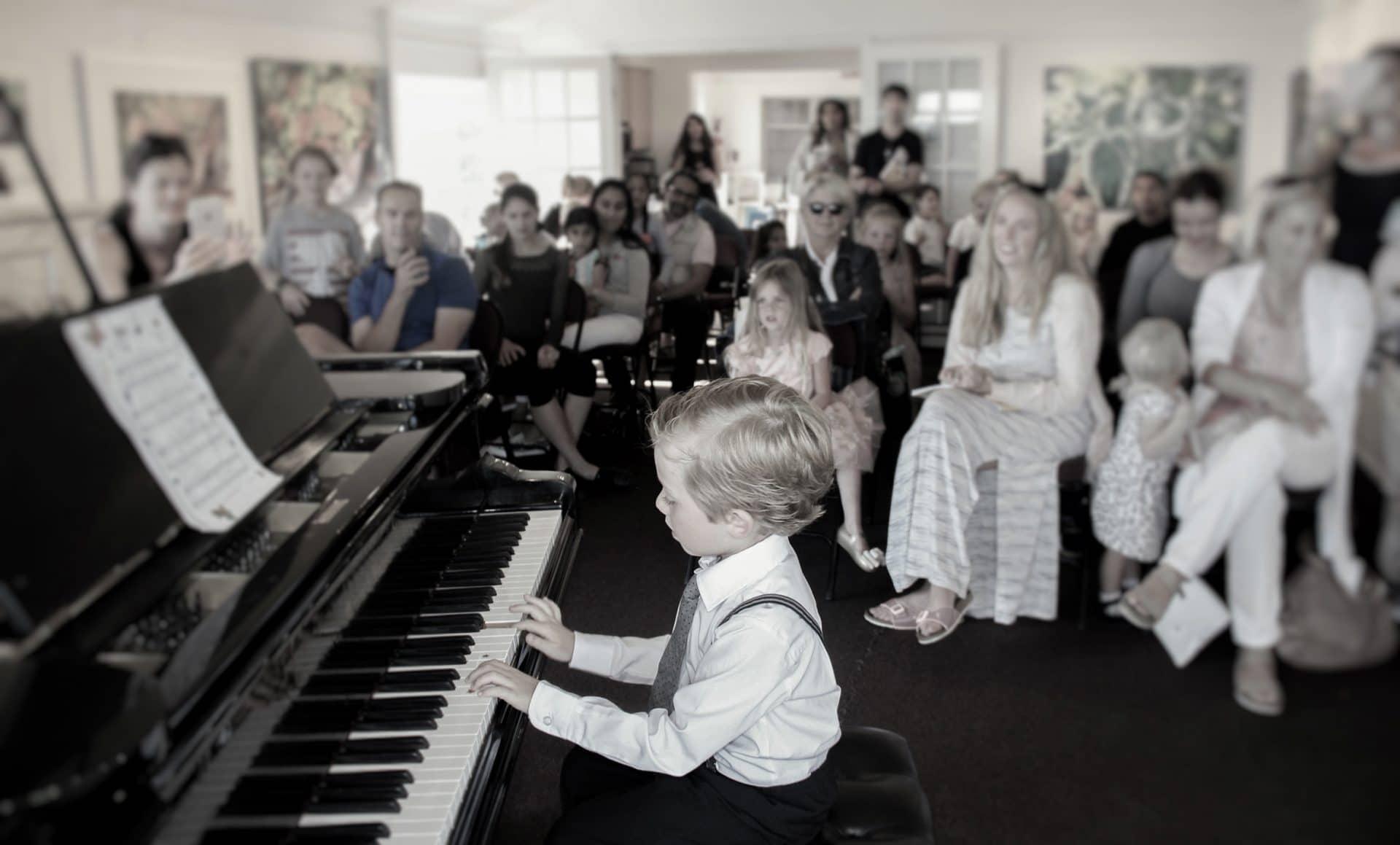 Kids Piano Lesson North Vancouver